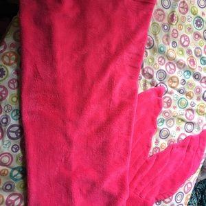 Pink mermaid Tale blanket for kids